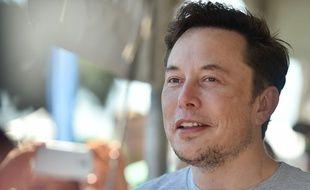 Elon Musk, le 22 juillet 2018 aux Etats-Unis.