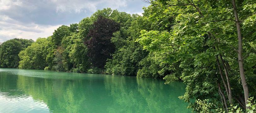 Le lac du parc de la Tête d'Or, ce 4 juin 2020.