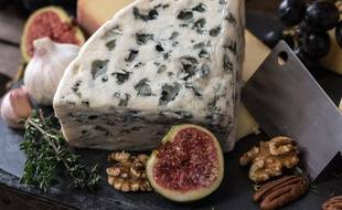 Illustration d'un plateau de fromages.
