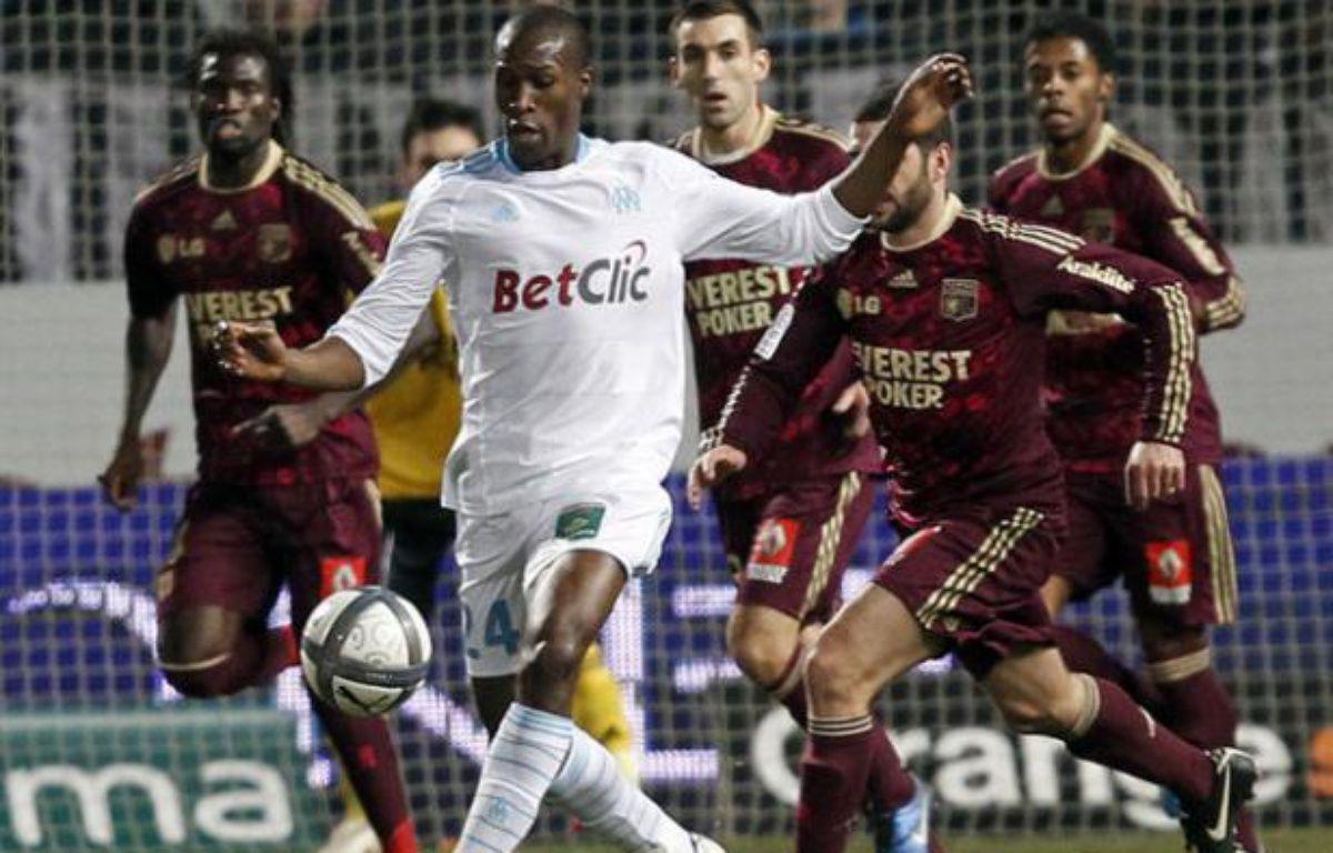 Le défenseur marseillais Rod Fanni, le 19 décembre 2010. – J.P. PELISSIER/REUTERS