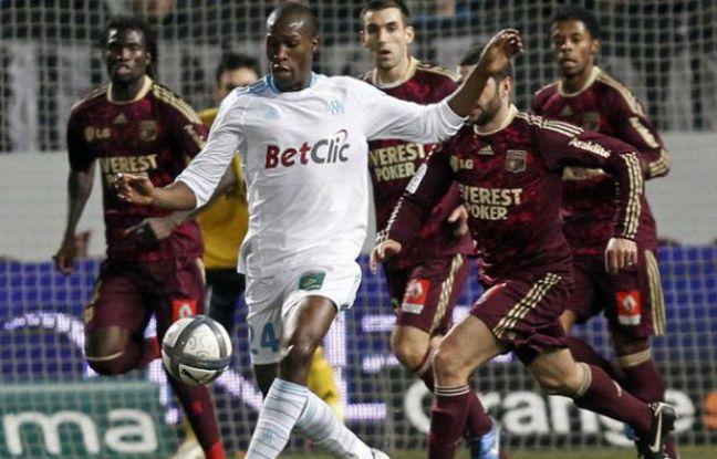 Le défenseur marseillais Rod Fanni, le 19 décembre 2010.