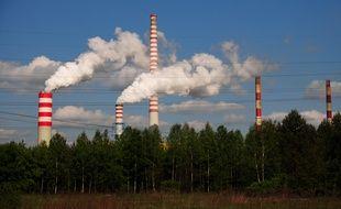 Une centrale thermique au charbon à Kozienice (Pologne).
