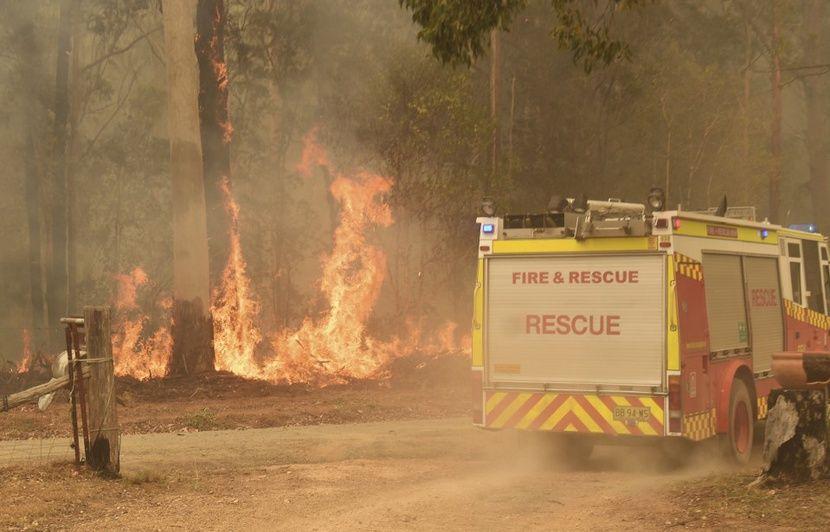 Australie : Le Premier ministre rejette tout lien entre incendies et réchauffement climatique