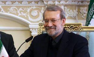 Le président du Parlement iranien, Ali Larijani, à Téhéran le 19 décembre 2015