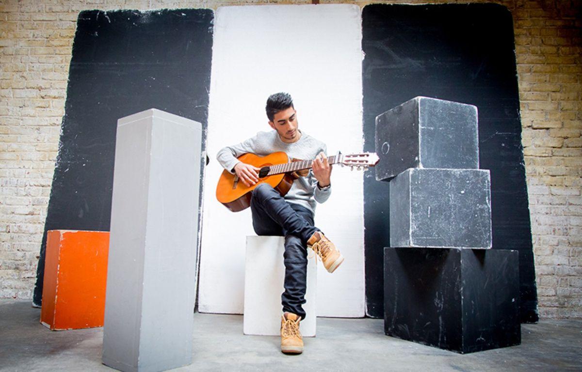 Le chanteur Mickaël Dos Santos – Sony Music