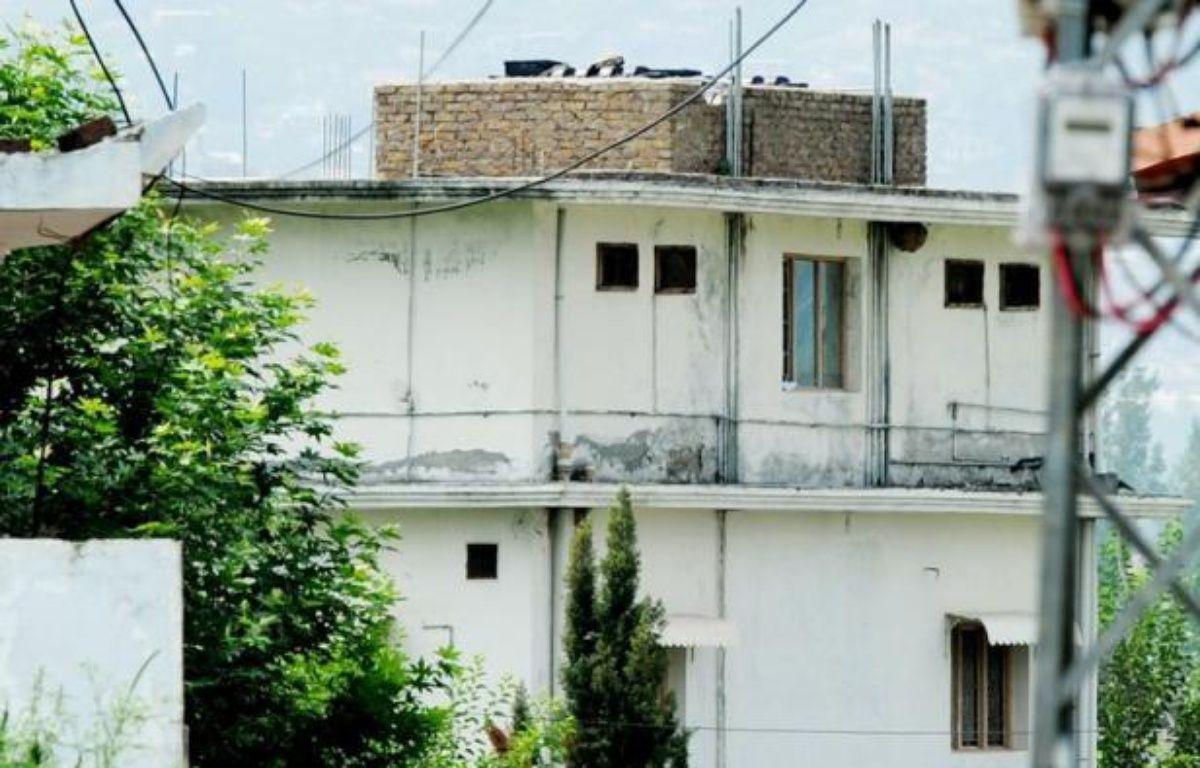 Après plusieurs années de cavale dans le nord-ouest pakistanais, Al-Qaïda décide de le cacher à Abbottabad, où elle fait bâtir une grande maison. – Aamir Qureshi afp.com