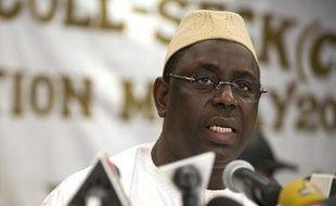 Macky Sall, candidat à la présidentielle sénégalaise et opposant à Abdoulaye Wade.
