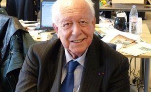 Jean-Claude Gaudin à la rédaction de 20 Minutes