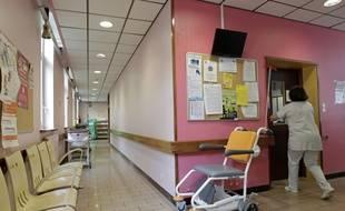 Illustration d'un centre hospitalier.