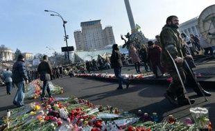 La place Maïdan à Kiev, le 26 février 2014