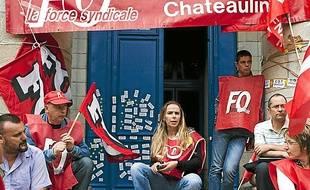 Les suppressions d'emplois chez Doux ont frappé la Bretagne (archives).