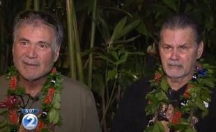 Deux Américains d'Hawaï, Alan Robinson et Walter Macfarlane, ont découvert qu'ils avaient la même mère.