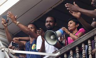La ministre des Outre-mer, Ericka Bareigts, a présenté ses excuses aux manifestants guyanais, le 30 mars 2017.