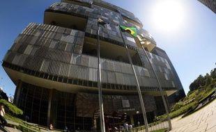 Le siège du groupe pétrolier brésilien Petrobras à Rio de Janeiro, le 12 mai 2014