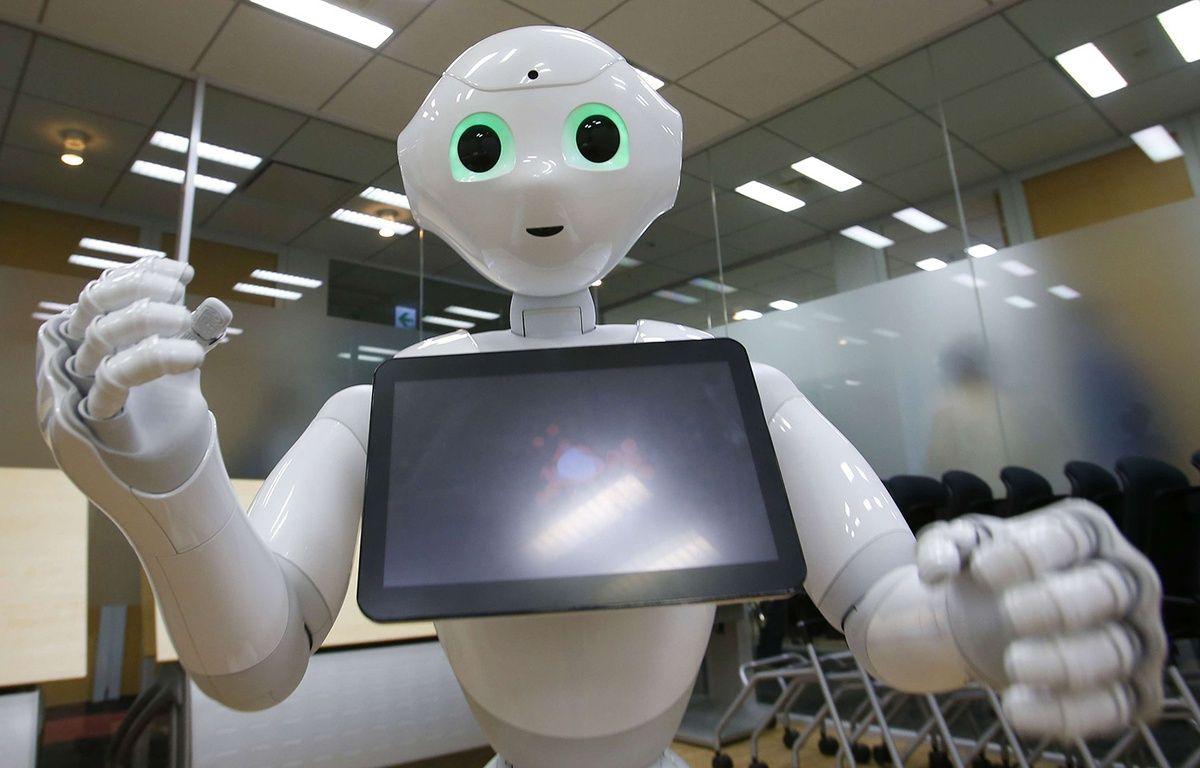 Un robot Pepper. – Shizuo Kambayashi/AP/SIPA