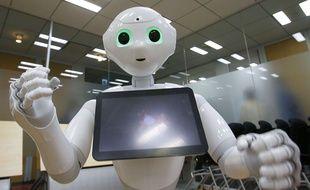 Un robot Pepper.
