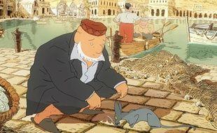 Image du film de Joann Sfar, «Le chat du rabbin»