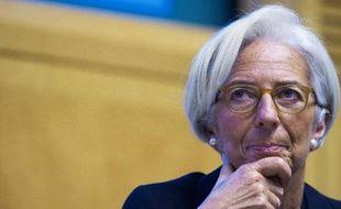 La patronne du FMI Christine Lagarde, le 18 novembre 2014 au siège du FMI à Washington