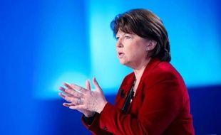 """Il n'y aura pas de croissance """"si on ne s'attaque pas à la finance"""", a affirmé mardi sur BFMTV-RMC la première secrétaire du PS, Martine Aubry, en appelant les socialistes à """"démultiplier la parole"""" de François Hollande."""