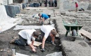Les fouilles se terminent fin juillet.