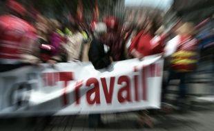 Manifestation contre la loi travail, le 19 mai 2016 à Strasbourg