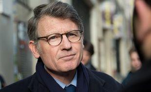 Vincent Peillon, candidat à la primaire organisée par le PS, le 14 janvier 2017 à Paris.