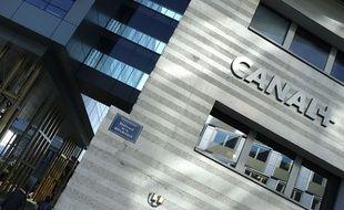 Siège du groupe audiovisuel Canal Plus à Boulogne Billancourt, filiale de Vivendi.
