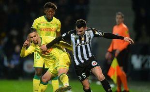 Les Nantais d'Imram Louza ont été dépassé samedi par Thomas Mangani est les Angevins (2-0)