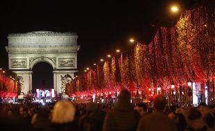 Les illuminations de Noël des Champs-Elysées en 2019.