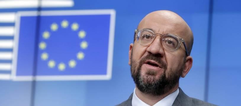 Le président du Conseil européen, Charles Michel.