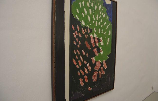 Le marronnier en fleurs, de Vincent Bioulès, est présenté au musée Fabre.