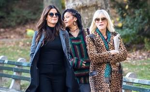 Rihanna, Sandra Bullock et Cate Blanchett sur le tournage de Ocean's Eight