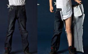 Le jean à scratch d'Andy et Emma.