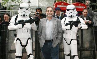 Le directeur du musée Rancho Obi-Wan, Steve Sansweet, considéré comme le plus grand collectionneur de Star Wars au monde