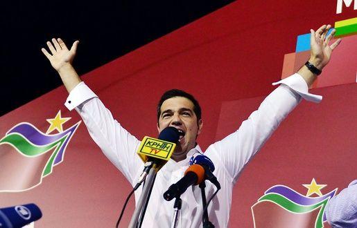 Le Premier ministre grec sortant<p/><a href=