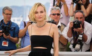 Diane Kruger  au Festival de Cannes pour leur film