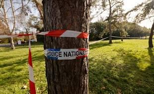 Cordon de police après la mort d'un adolescent de 14 ans lors d'une rixe entre bandes rivales à Boussy-Saint-Antoine, dans l'Essonne.