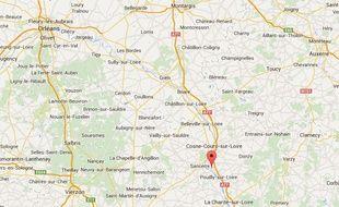Tracy-sur-Loire, dans la Nièvre.