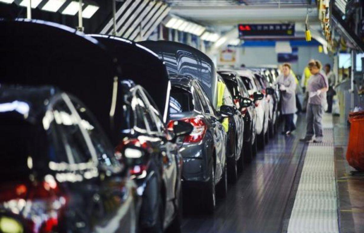 La croissance a été nulle en France au deuxième trimestre 2012 par rapport au précédent, a annoncé mardi l'Institut national de la statistique et des études économiques (Insee) dans une première estimation pour la période. – Sebastien Bozon afp.com