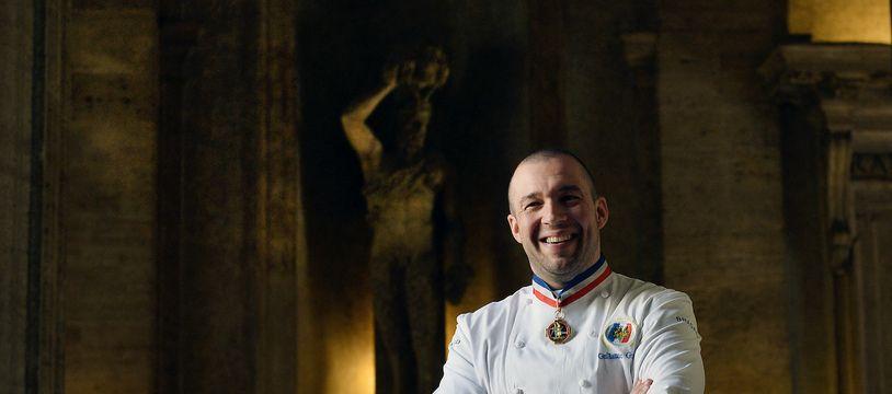 Guillaume Gomez, chef cuisinier de l'Elysée, en 2015