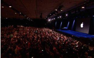 Keynote d'Apple, le 8 juin 2015.