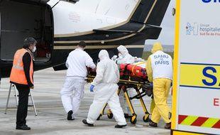 Des évacuations par voie aérienne ont eu lieu ce weekend depuis l'Ile-de-France.