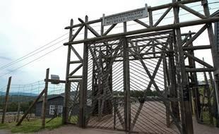 Natzwiller-Struthof le 24 06 2012. Commémoration au camp de concentration du Struthof.