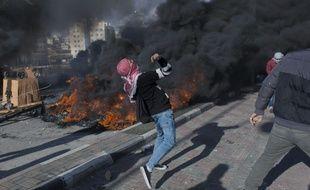 Des Palestiniens exprimaient leur colère jeudi contre la reconnaissance américaine de Jérusalem comme la capitale d'Israël
