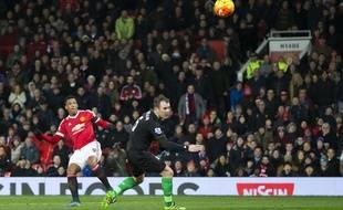 Anthony Martial marque contre Stoke le 2 février 2016.