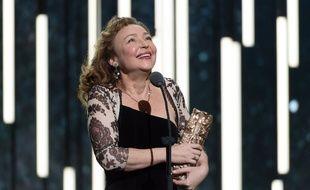 L'actrice Catherine Frot lors des Césars le  26 février 2016