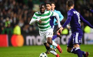 Odsonne Edouard sous les couleurs du Celtic Glasgow qui vient de l'acheter au PSG pour une dizaine de millions d'euros.