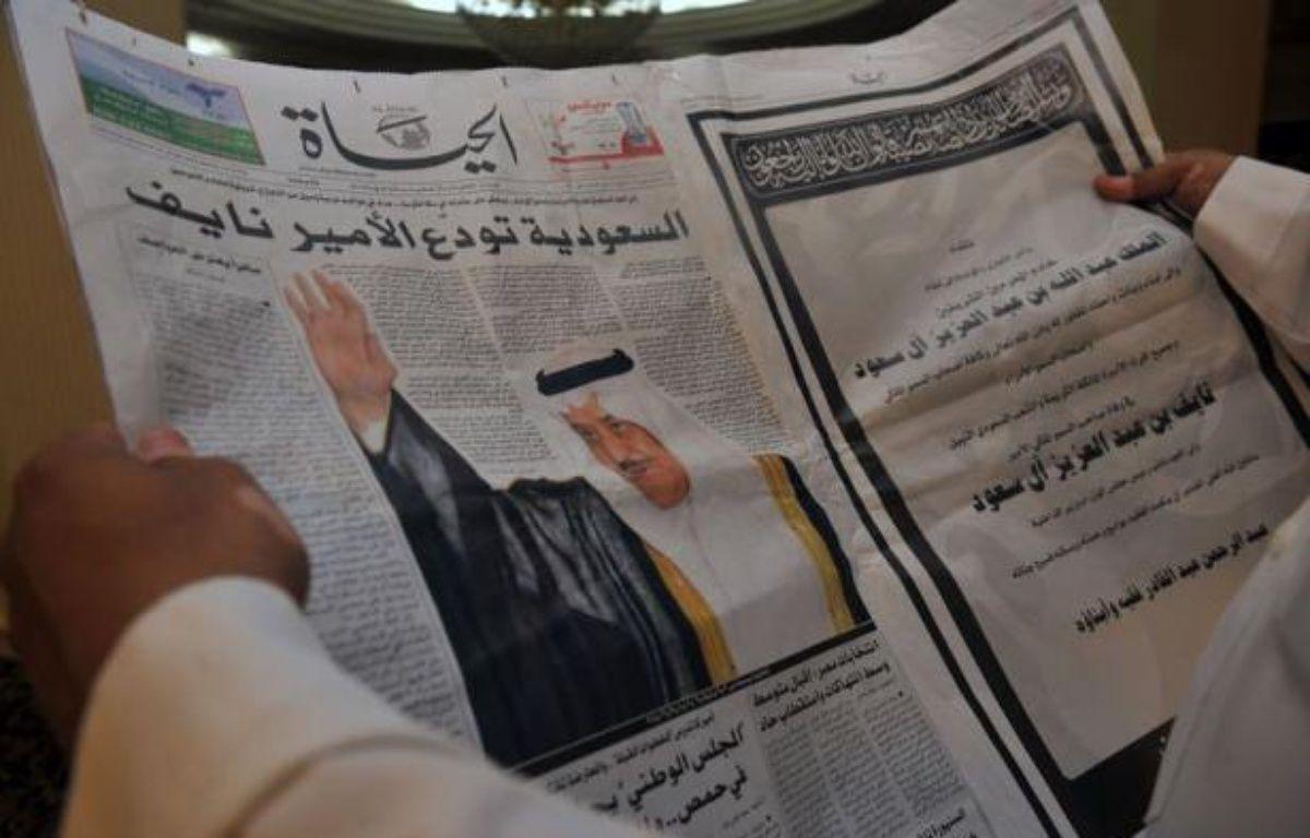 L'Arabie saoudite se préparait à inhumer dimanche soir à La Mecque le prince héritier Nayef ben Abdel Aziz, décédé à l'âge de 79 ans, et à lui choisir un successeur parmi ses frères selon les règles de cette gérontocratie. – Fayez Nureldine afp.com