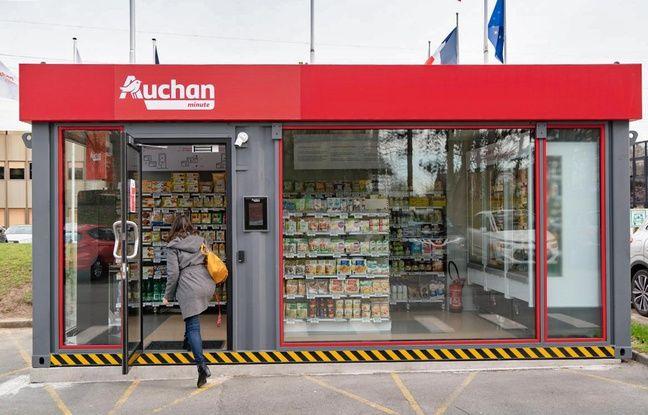 Vers l'arrivée de magasins Auchan sans personnelen France?