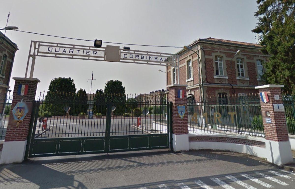 La caserne du 41e régiment de transmissions de Douai – Google Street View